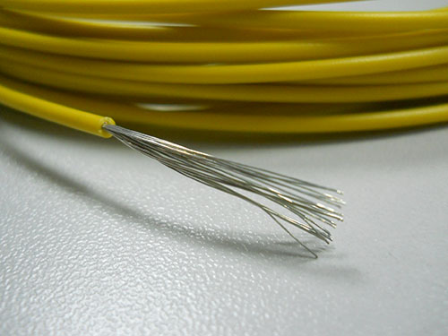 Low temperature wire for AVX high temperature automotive
